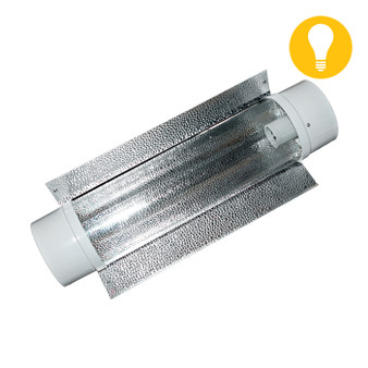 8'' Air-Cooled Tube Reflector w/ Wings