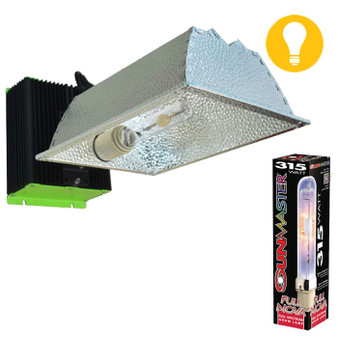 B.Lite 315W CMH All-in-One Fixture & Sunmaster Lamp