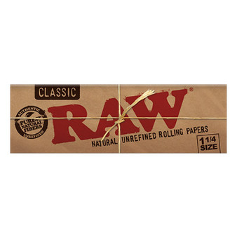 RAW Classic Papers 1-1/4 50 Leaves/Pack - Box of 24