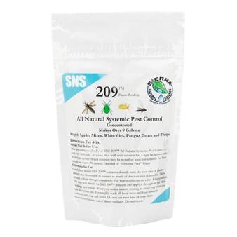 SNS 209 2.5oz Pouch 10pcs