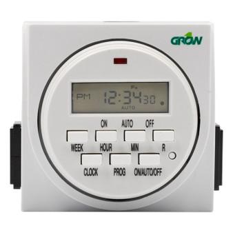 120V Dual Outlet Digital Timer