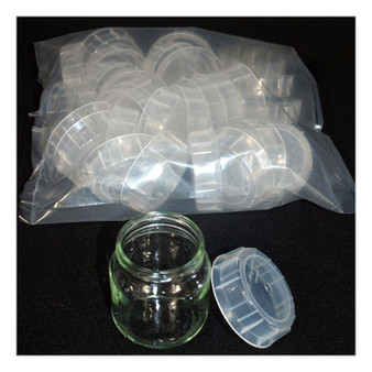 Snap-on Lids for Tissue Culture Jars (30-pack)