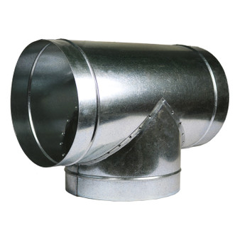 4''x4''x4'' 'T' Duct Connector