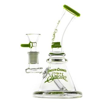 Waterpipe Cheech & Chong 'Strawberry' 7.25'' Apple Green