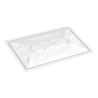 X-Trays Res. Lid 100 Gal White
