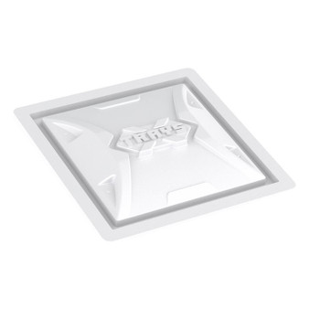 X-Trays Res. Lid 25 Gal White