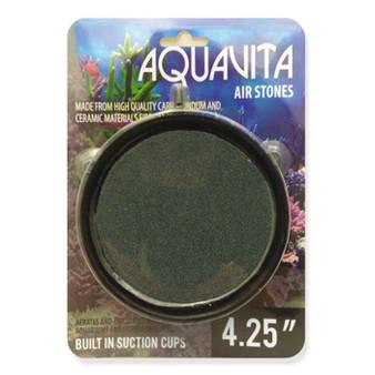 Aquavita 4.25'' Round Air Stone with Suction Cups