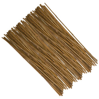 6' 12-14MM Natural Bamboo Stakes Bulk (200/bale)