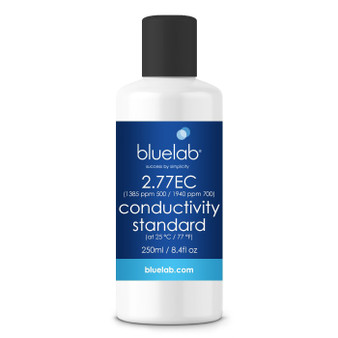 Bluelab 2.77 EC Conductivity Stnd. Solution 250ml (California Only)