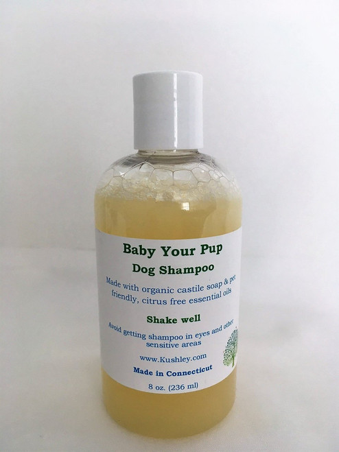 Pet Shampoo (citrus free) – 8 oz - Kushley