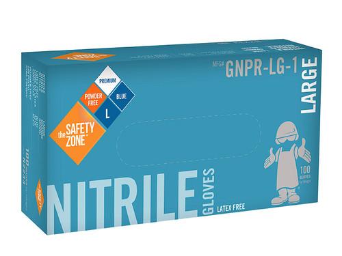 Nitrile Gloves - Blue