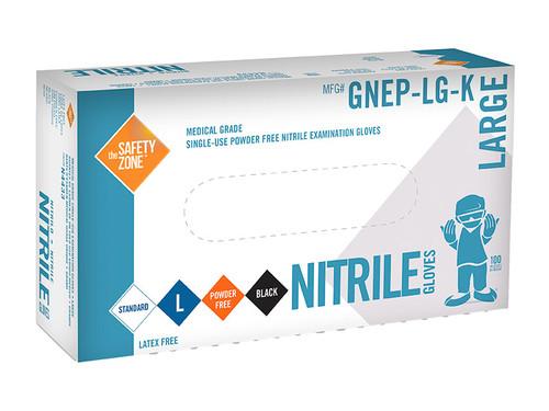 Nitrile Gloves - Medical (Black)