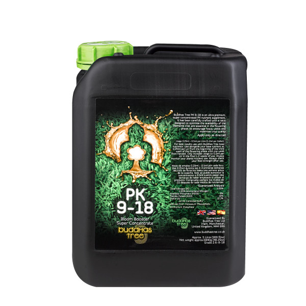 Bloom Booster - PK9-18 – 5 Liter - Buddha's Tree Plant Nutrients