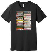 80's New Wave Cassette Tapes - Mixtape 1 - 100% Ringspun Cotton T-Shirt