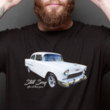 Still Sexy After All These Years – White Chevrolet Bel-Air