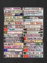 80's New Wave Cassette Tapes - Mixtape 2 - 100% Ringspun Cotton T-Shirt