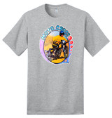 Vintage Motocross Dirt Bike – New Grey Shirt – 100% Ringspun Cotton T-Shirt