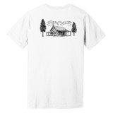 Cabinesque – White – Double Sided –Ringspun Cotton T-Shirt