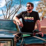 Q102 – Texas Best Rock – BLUE – Ringspun Cotton