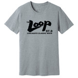 The Loop 97.9 – Chicago's Rock Station – GRAY – Ringspun Cotton