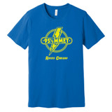 95.5 (95 1/2) WMET Rocks Chicago – BLUE – Ringspun Cotton