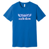 KZEW 98 FM Elephant – BLUE 2 – Ringspun Cotton