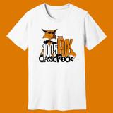 100.5 The Fox Classic Rock – Anchorage – WHITE – Ringspun Cotton