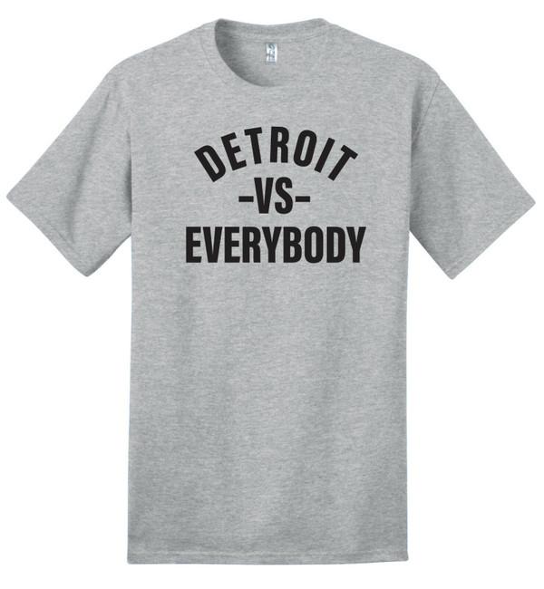 Detroit VS Everybody - 100% Ringspun Cotton T-Shirt