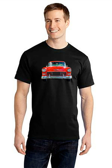 Chevrolet Bel Air Chevy - 100% Ringspun Cotton T-Shirt