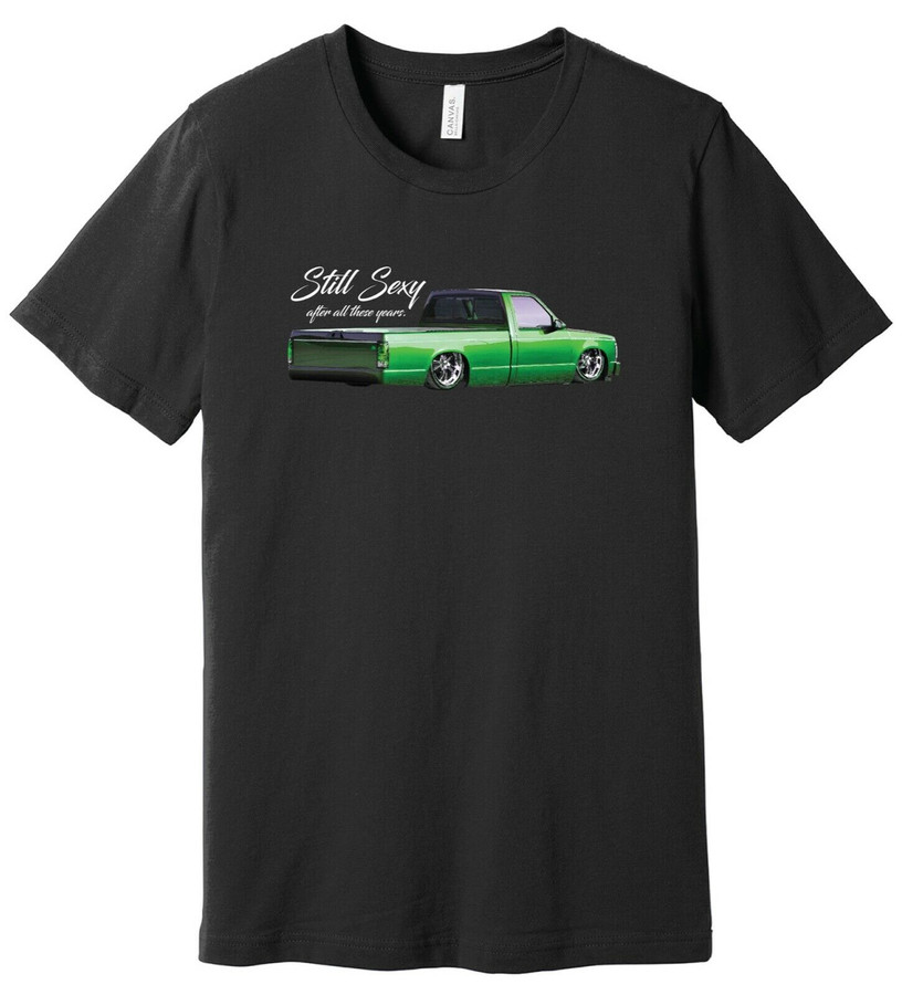 Still Sexy Mini Truck – Old School Chevy S10 - 100% Ringspun Cotton T-Shirt