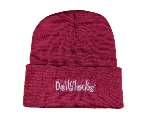 Dollylocks Pink Knit Beanie