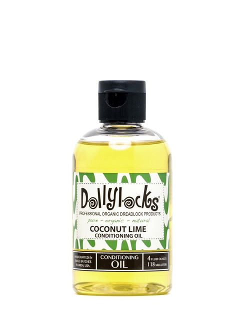 4oz Coconut Lime Conditioning Oil