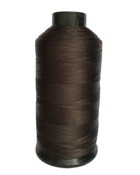 4oz Spool Dark Brown Nylon Thread