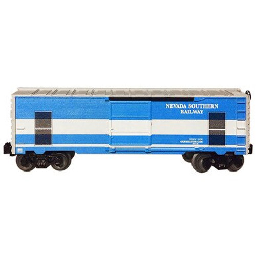 S-Gauge Nevada Southern Railway Generator Car
