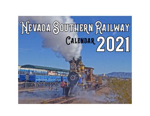 Nevada Southern Railway Calendar 2021