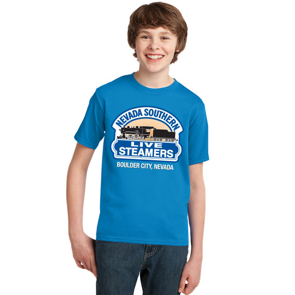 Nevada Southern Live Steamers Child 100% Cotton T-Shirt