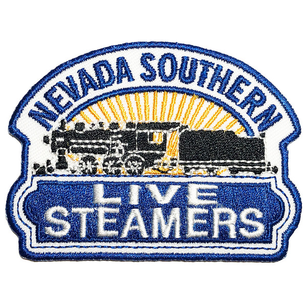Nevada Southern Live Steamers Embroidered Patch