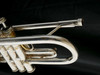 Bargain 1974 Bach Stradivarius 37 Bb Trumpet in Silver Plate!