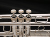 Shires Model 401 C Trumpet in Silver Plate