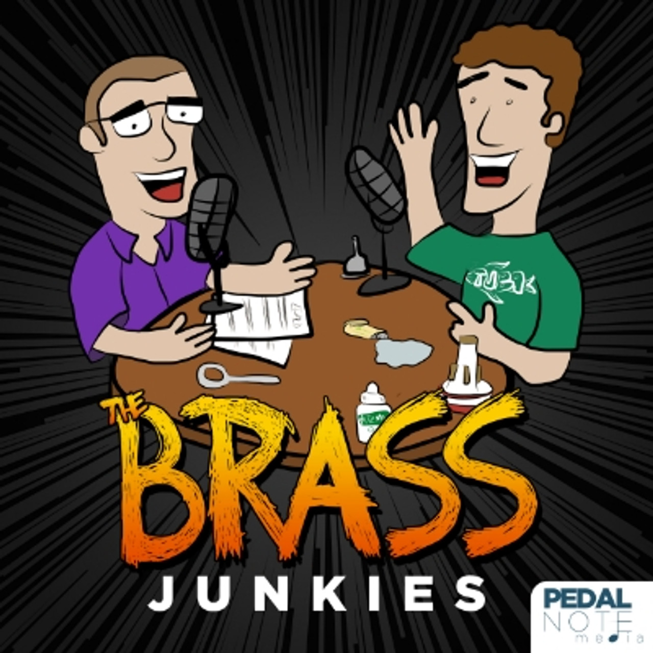 Check out my interview with the Brass Junkies!