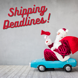 Holiday Shipping guidelines!