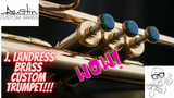 Check out the All new J. Landress Brass Trumpet!  Wow!