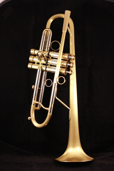 Brasspire 916 Heavy Weight Style Professional Bb Trumpet  with Upturned Bell