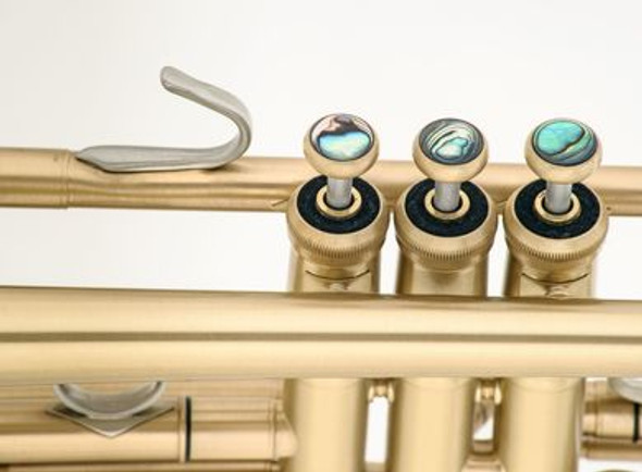 JP 251RSW Smith Watkins Trumpet in Clear Lacquer with Rose Brass Bell