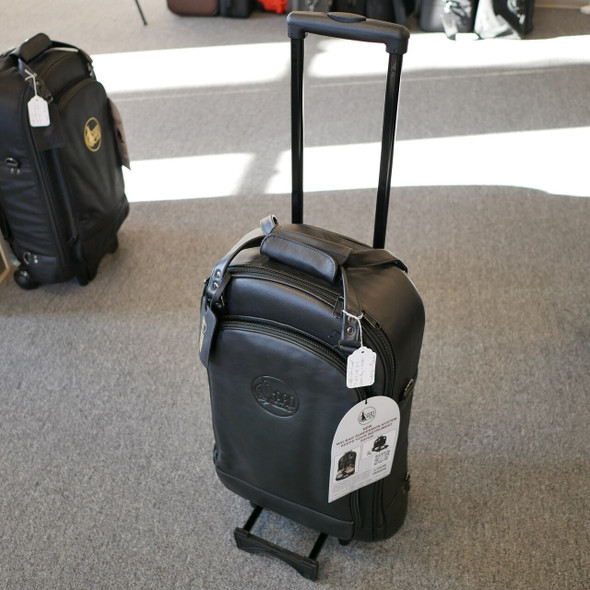 Gard Triple (2trpt + picc) Wheelie Bag in Leather