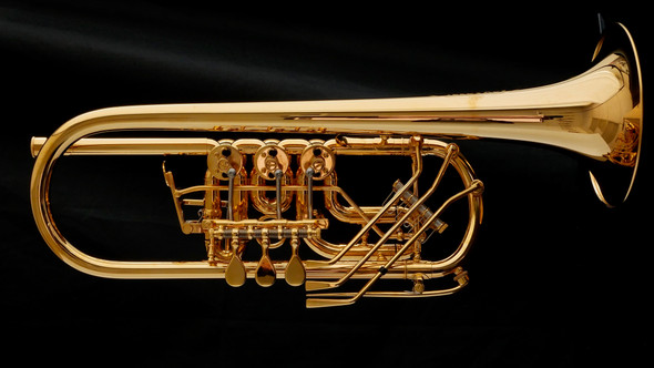 Schagerl Berlin Model Rotary C Trumpet: Build Your Own!