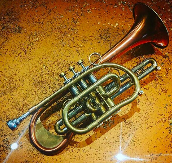 The amazing Del Quadro  Picasso cornet