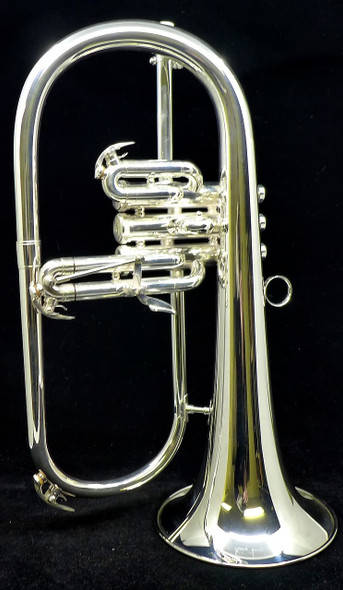 Brasspire Unicorn 850 Flugelhorn in Silver Plate Incredible Value and Playability!
