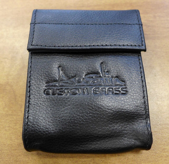 Brand New Gard/ACB Double Mouthpiece Pouch in Leather!