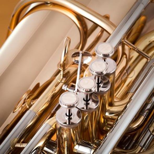John Packer JP379CC Sterling CC Tuba in Gold Lacquer